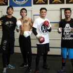 Joseph Diaz, Roy Tapia and Nick Arce Media Workout