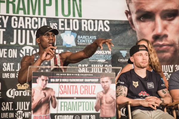 Leo Santa Cruz vs. Carl Frampton Final Presser - Amanda Westcott (1)