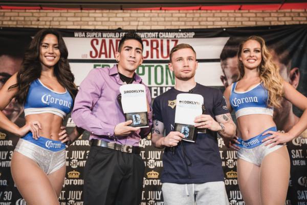 Leo Santa Cruz vs. Carl Frampton Final Presser - Amanda Westcott (19)