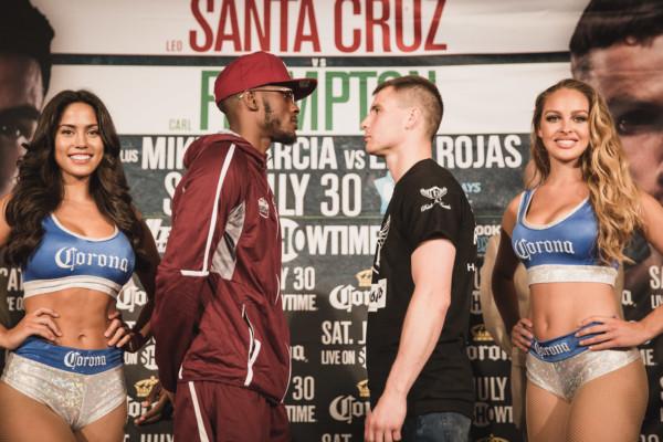 Leo Santa Cruz vs. Carl Frampton Final Presser - Amanda Westcott (24)