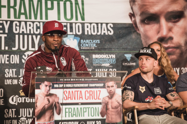 Leo Santa Cruz vs. Carl Frampton Final Presser - Amanda Westcott (5)