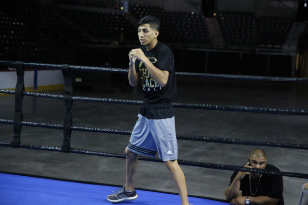 Mario Barrios PBC on ESPN Media Workouts_Workout_Dave Nadkarni _ Premier Boxing Champions