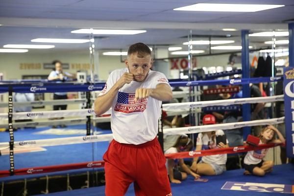 PBC on FOX 7.16.2016 - Media Workouts_Workout_Jennifer Hagler _ DiBella Entertainment _ Premier Boxing Champions16