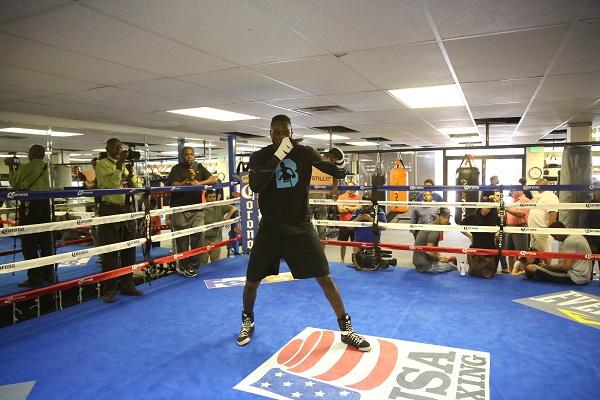 PBC on FOX 7.16.2016 - Media Workouts_Workout_Jennifer Hagler _ DiBella Entertainment _ Premier Boxing Champions2