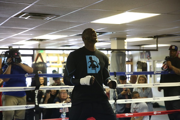 PBC on FOX 7.16.2016 - Media Workouts_Workout_Jennifer Hagler _ DiBella Entertainment _ Premier Boxing Champions4