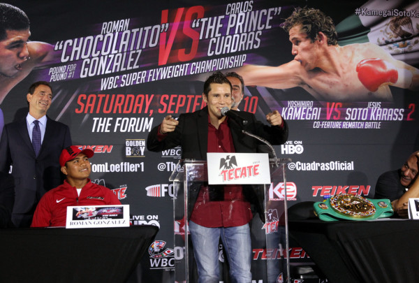 Roman Gonzalez vs. Carlos Cuadras - Chris Farina K2 (1)