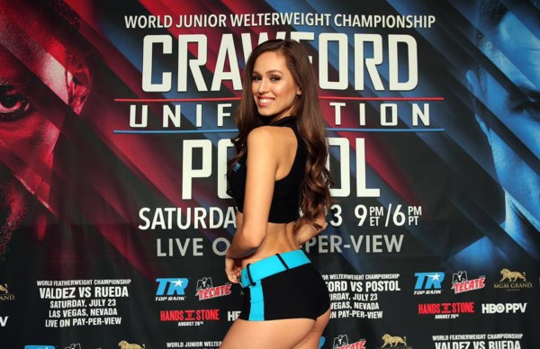TR Knockout - Terence Crawford vs. Viktor Postol Weigh in - Mikey Williams Top Rank (6)
