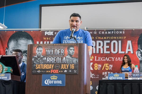 Wilder vs Arreola Final Press Conference - July 16_ 2016_Presser_Jordan Hardy _ Premier Boxing Champions10