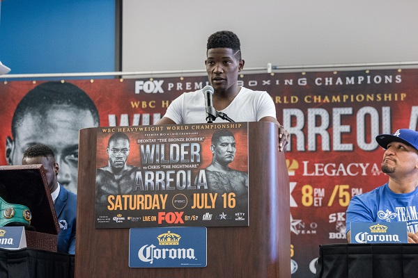 Wilder vs Arreola Final Press Conference - July 16_ 2016_Presser_Jordan Hardy _ Premier Boxing Champions6