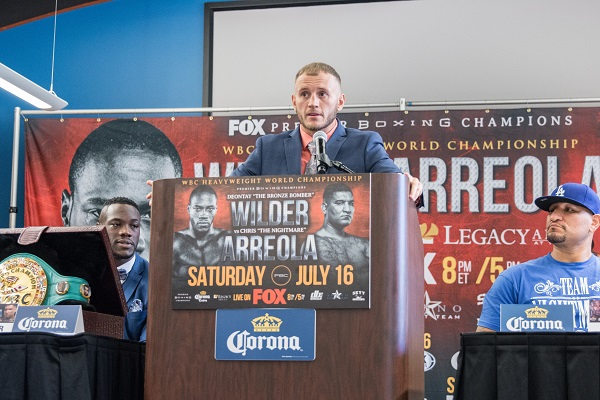 Wilder vs Arreola Final Press Conference - July 16_ 2016_Presser_Jordan Hardy _ Premier Boxing Champions8