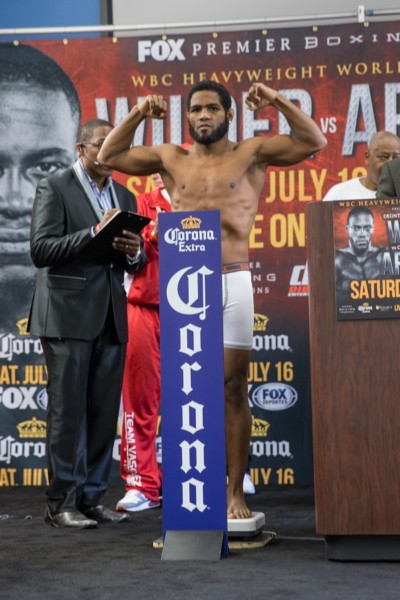 Wilder vs Arreola - Weigh-ins_Weigh-in_Ryan Hafey _ Premier Boxing Champions9