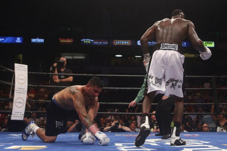 Deontay Wilder v Chris Arreola