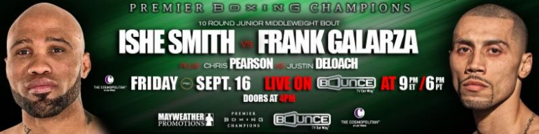 Ishe Smith vs. Frank Galarza Banner