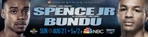 Errol Spence vs. Leonard Bundu