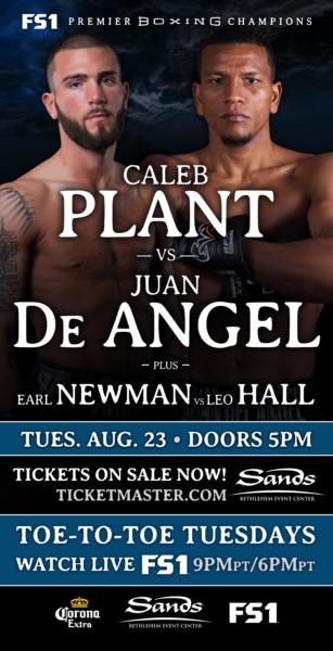 Caleb Plant vs. Juan De Angel