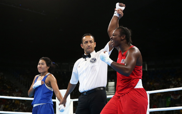 Claressa Shields - Getty Images