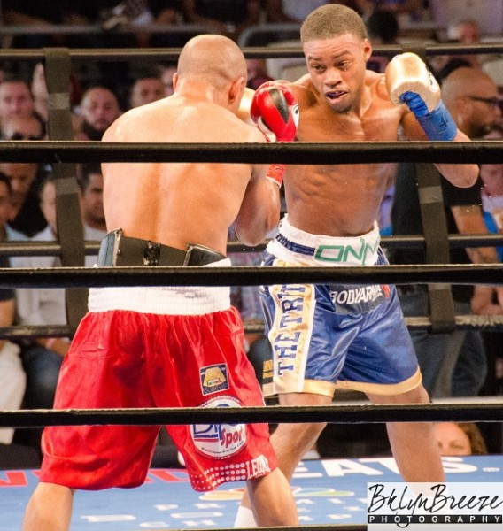 Errol Spence vs. Leonard Bundu Brant Wilson RBRBoxing