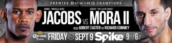 Daniel Jacobs vs. Sergio Mora 2
