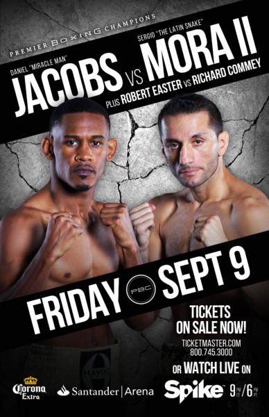 Jacobs vs. Mora 2 - Banner2
