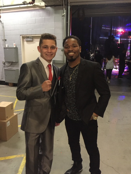Shawn Porter and Victor Morales