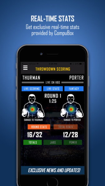 Throwdown Boxing App