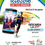 Claro Sports Release App to Watch Olympic Games