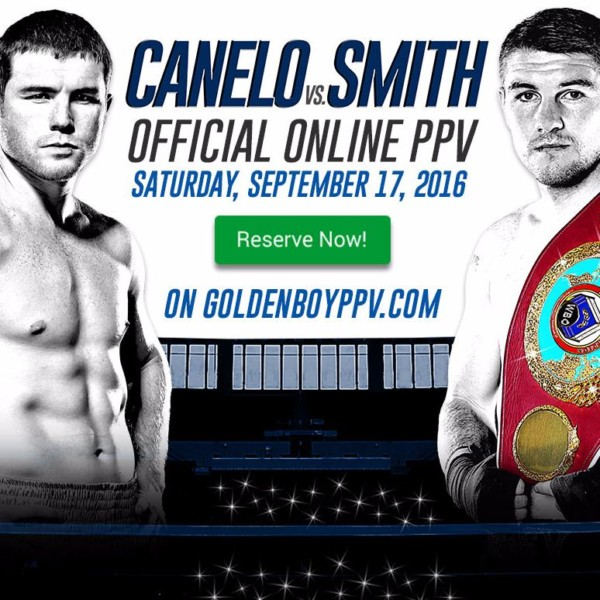 Canelo vs. Smith PPV
