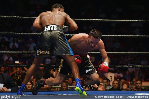 Daniel Jacobs vs. Sergio Mora - Drew Hallowell Getty Images
