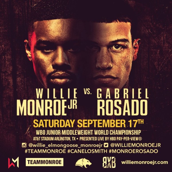 Willie Monroe vs. Gabriel Rosado