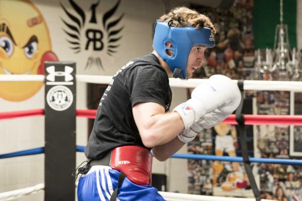 Taras Shelestyuk sparring