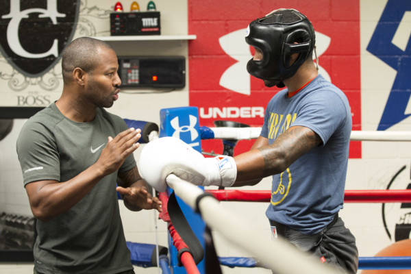 Shane Mosley coaching Jr