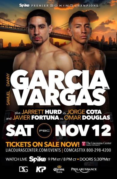 Danny Garcia vs. Samuel Vargas Poster
