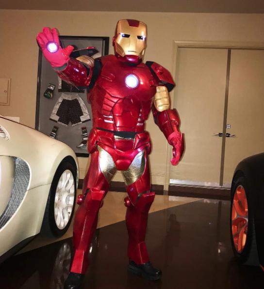 Floyd Mayweather Halloween Ironman