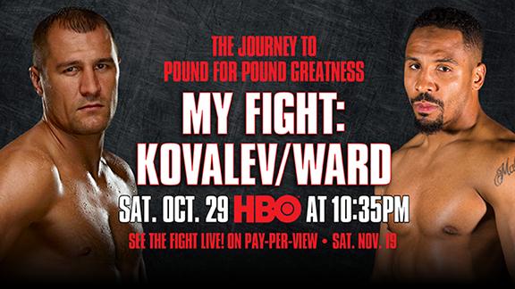 Sergey Kovalev vs. Andre Ward