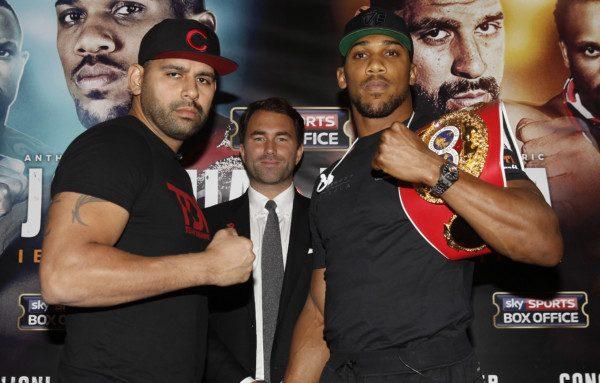 Anthony Joshua Eric Molina - Lawrence Lustig/Matchroom Boxing