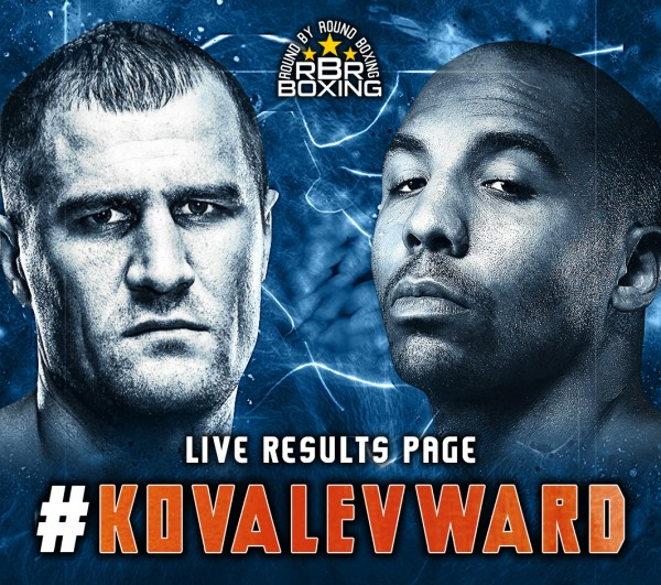 Kovalev vs. Ward Live Blog