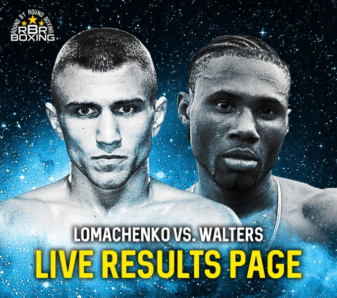 Lomachenko remains champ after Walters quits on his stool