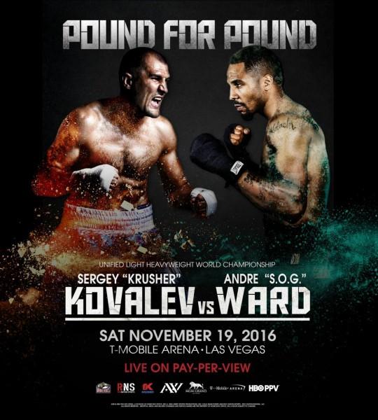 Kovalev vs. Ward Poster