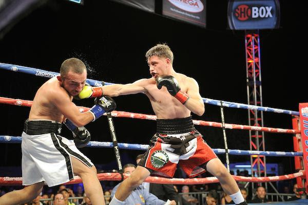 Ruben Villa Carlos Baeza Thompson Boxing