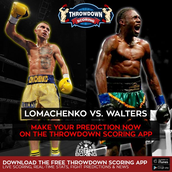 Vasyl Lomachenko Makes Nicholas Walters Quit in HBO Boxing Main Event