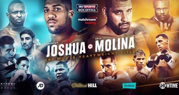 Anthony Joshua vs. Eric Molina