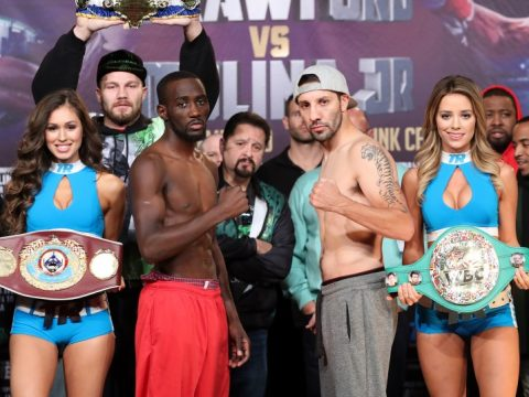 crawford_molina_weighin_pose_belts