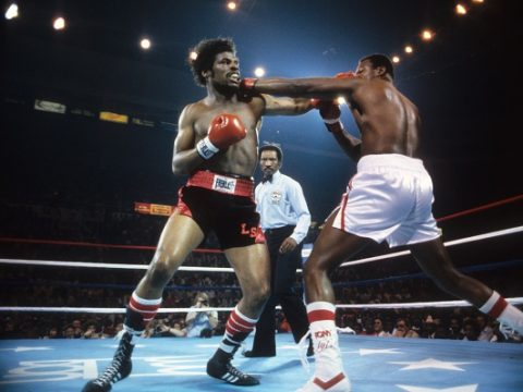 Larry Holmes vs Leon Spinks, 1981 WBC World Heavyweight Title