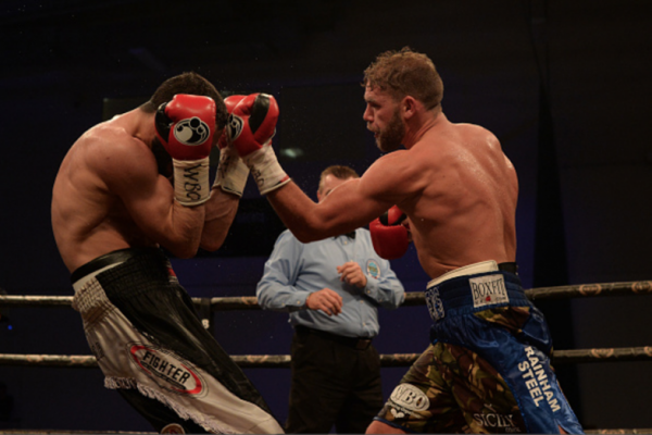 Billy Joe Saunders Photo by Mark Runnacles/Getty Images