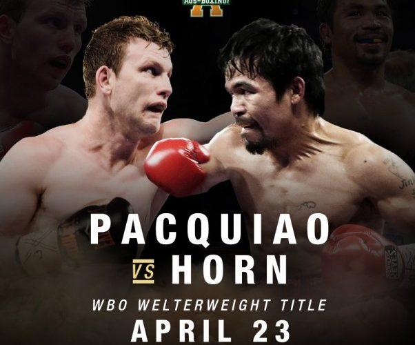 Pacquiao vs. Horn