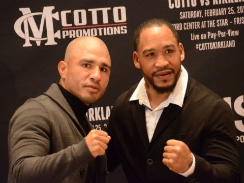 Miguel Cotto - James Kirkland - Brant WIlson
