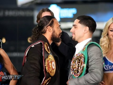 Thurman vs. Garcia Screenshot
