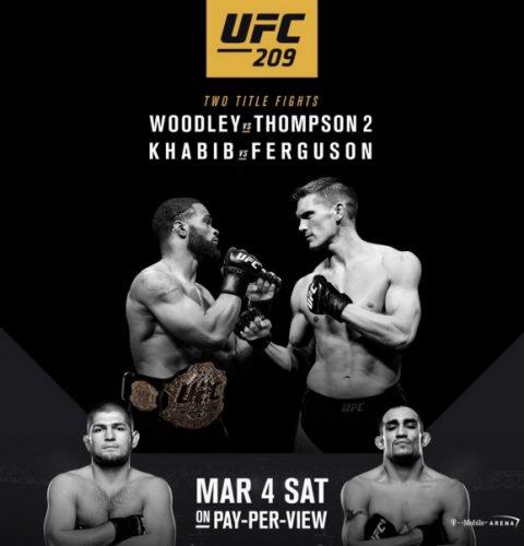 UFC209-poster