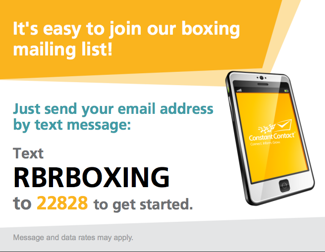Boxing Mailing list