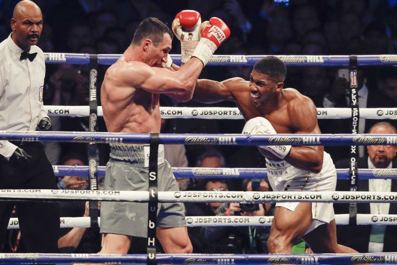 klitschko fight results